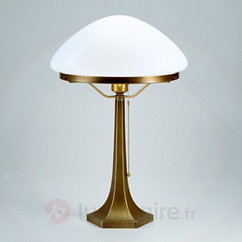 Lampe à poser Greta en laiton - Lampes à poser classiques, antiques