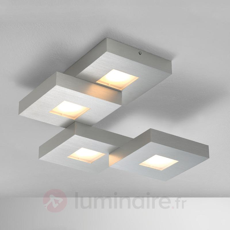 Plafonnier LED Cubus disposé en escaliers - Plafonniers LED