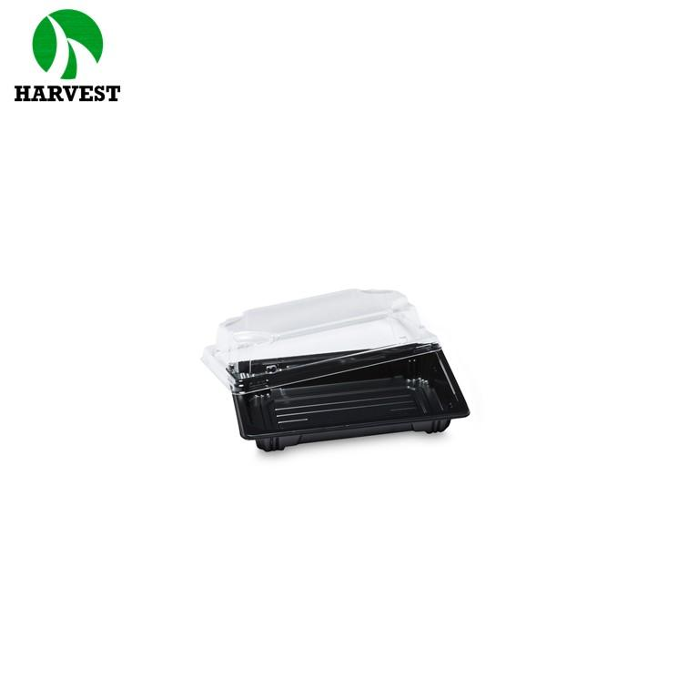 Harvest Hp-00 Small Disposable Plastic Sushi Containers - Sushi Trays