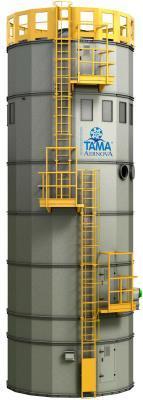 SILO CON SISTEMA DI FILTRAZIONE  - silos per stoccaggio polveri