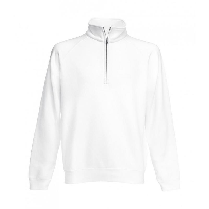 Sweat shirt zip ras de cou - Sans capuche