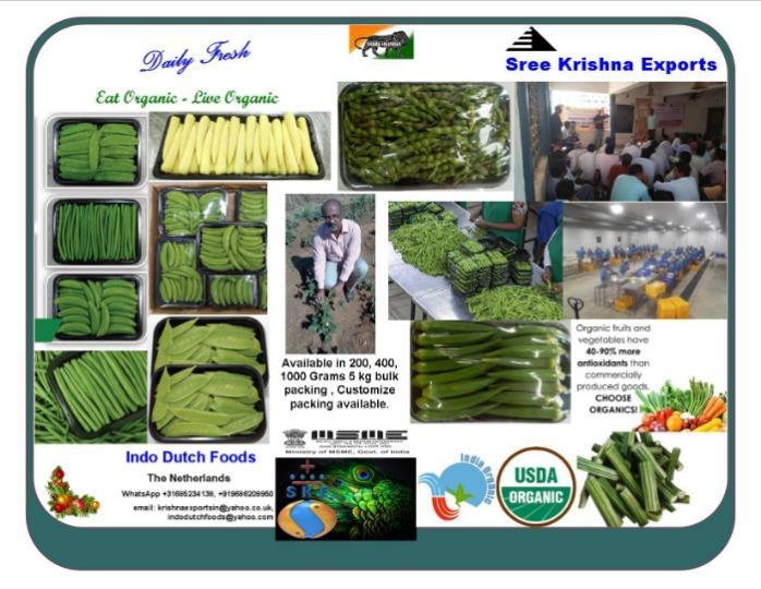 Fresh vegetables and fruits  - vegetables
