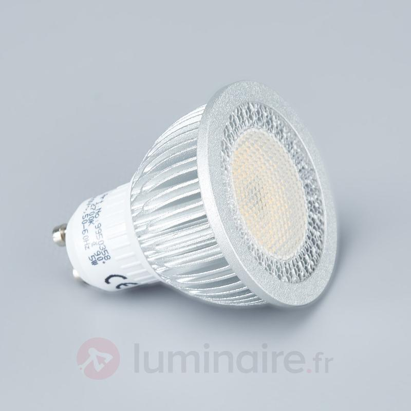 Set de 3 spots encastrés LED Lisara ronds blancs - Spots encastrés LED