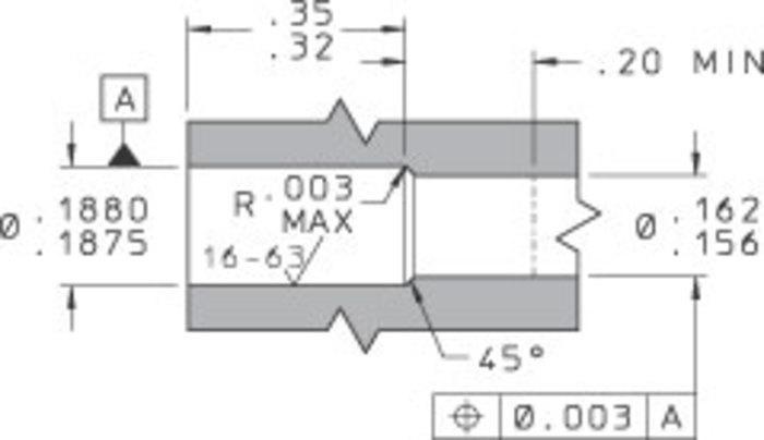 Reverse Screened Lubrication Jet - null