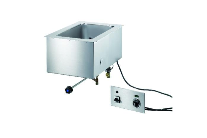 Built-in Bain-marie - Water level control