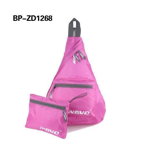 Triángulo de poliéster bolsos del morral - mochila multifuncional poliéster Triángulo