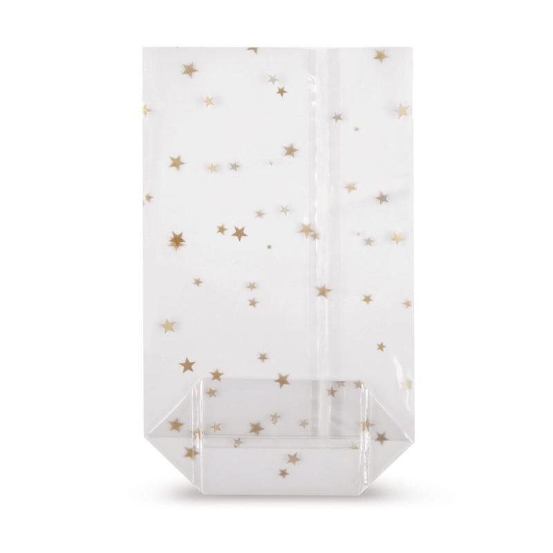 Kreuzbodenbeutel mit Siegelnaht und beidseitigem Aufdruck - Kreuzbodenbeutel mit Siegelnaht und beidseitigem Aufdruck