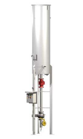 Automatic gas flare NOXmatic - UTILIZE