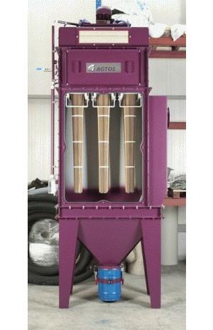 Patronenfiltersysteme - Patronenfiltersysteme für Schleuderrad-Strahlmaschinen