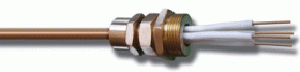 Cable with mineral insulation