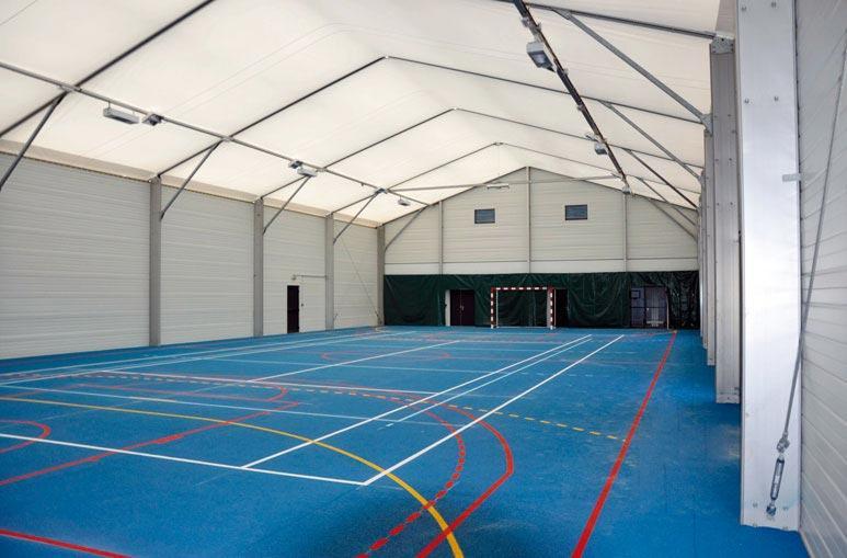 Hall de Sports collectifs - Système de construction - Bâtiments sportifs et Espaces Loisirs