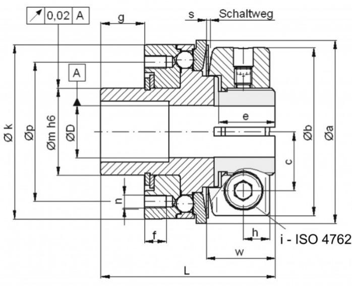 Safety coupling SKX-L - Safety coupling SKX-L for indirect drives