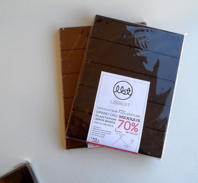 Chocolat Noir 70 % cacao pure origine Mexique - Couverture - Épicerie sucrée