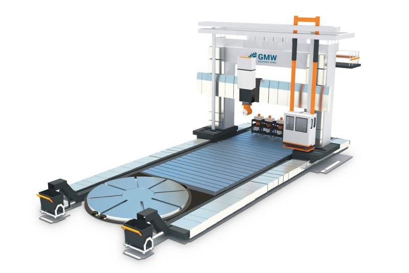 MC Double Gantry for Heavy Duty Cutting / DGBW series - Double Gantry Boring Machines