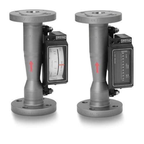 H250 M8 - Caudalímetro para gas/de área variable/con tubo de metal/clamp-on/max. 3000 bar