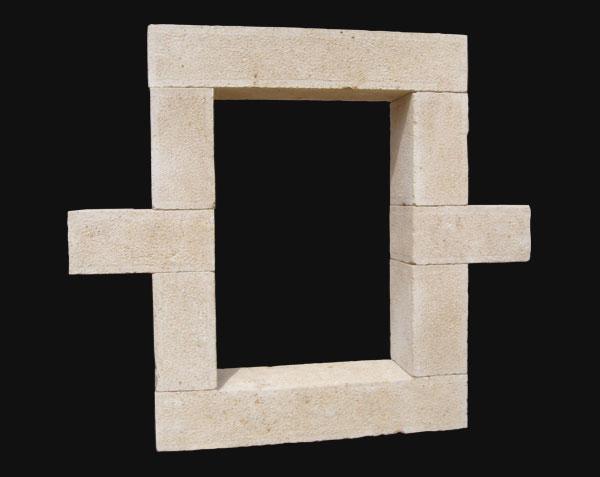 Elements de bâtiment en pierre de Bourgogne - Pilier, Encadrement, Lucarne, Oeil de boeuf
