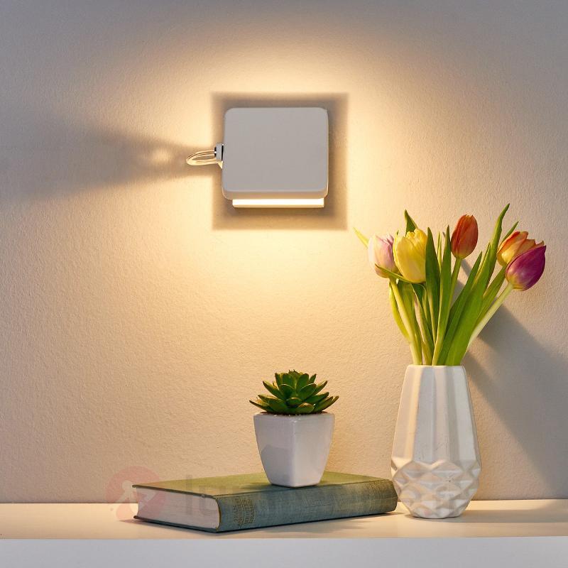 Spot mural LED Kena inclinable et variable - Appliques LED