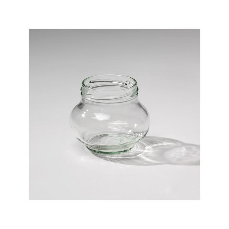 WECK FÊTE® Glazen - 12 flessen in glas WECK Fête® 235 ml Twist-Off met dop Ø 63 mm geleverd