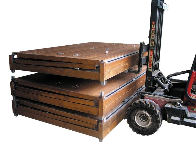 Chalet pliant en bois - Abris & couvertures diverses