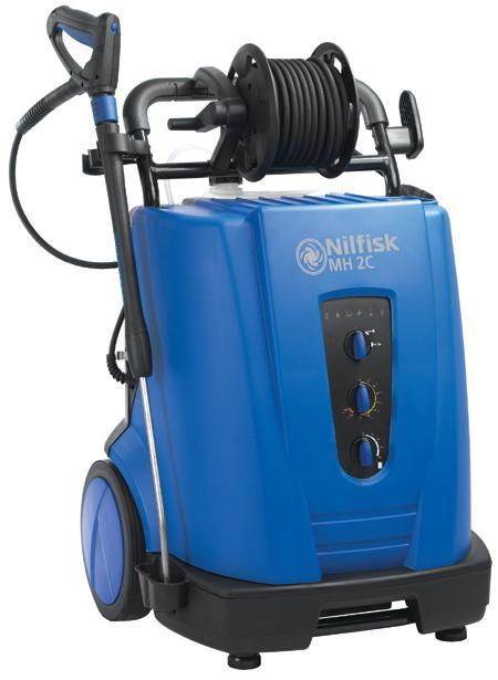 NILFISK MH 2C - Nettoyeurs mobile eau chaude petit débit - Débit 600 à 780 l/h. Usage journalier