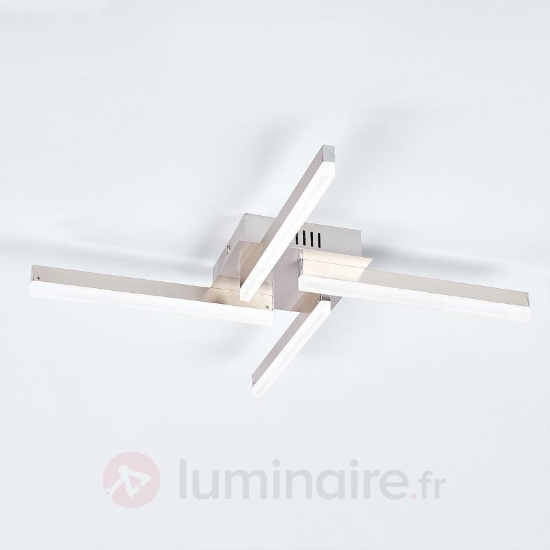 Plafonnier LED droit Claudia - Plafonniers LED