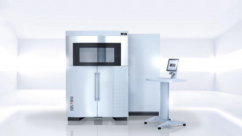 EOS P 810 - Die ideale Lösung für die Herstellung anspruchsvoller Hochleistungsbauteile