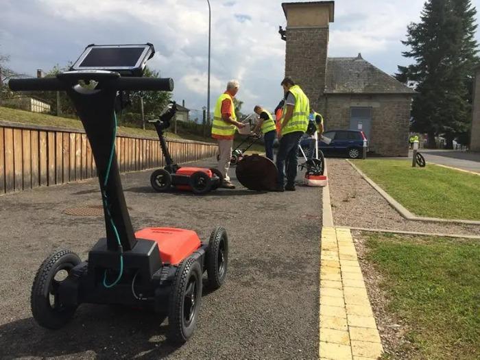 UtilityScan DF GSSI - Le radar de sol expert pour la détection de réseaux enterrés