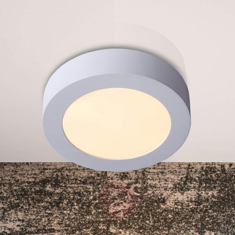 Discreet Brice LED ceiling light, round 18 cm - design-hotel-lighting