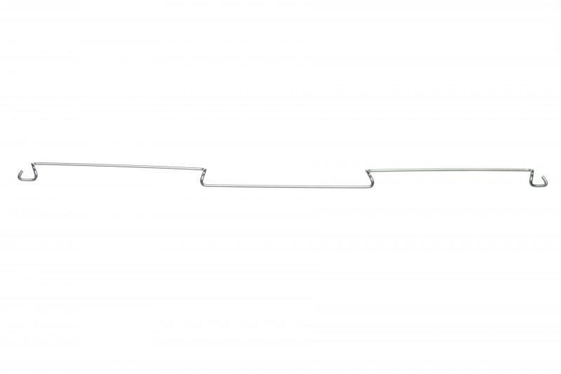 Комплектующие сеток: крюковые скобы - Крюковые скобы для сцепки и мелкого ремонта .