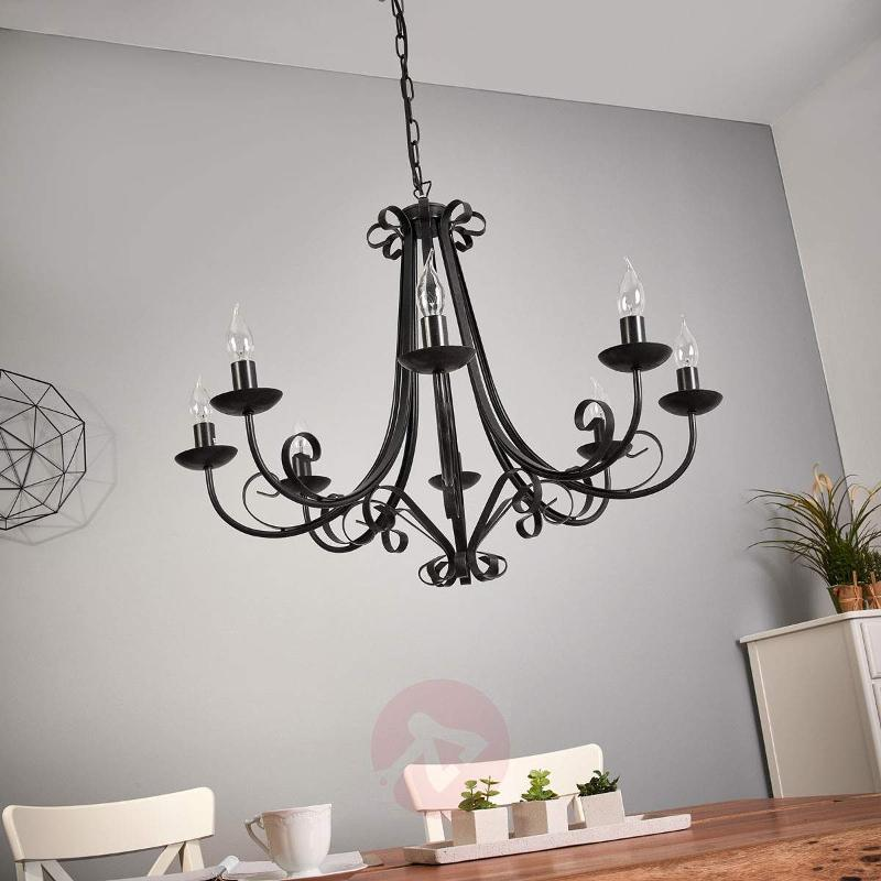 Roma Chandelier Country House Eight Bulbs - Chandeliers