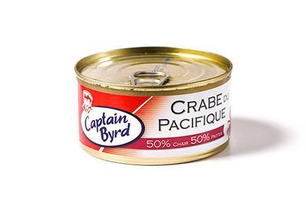 Crabe du Pacifique 50% pattes 50% chair - Le crabe