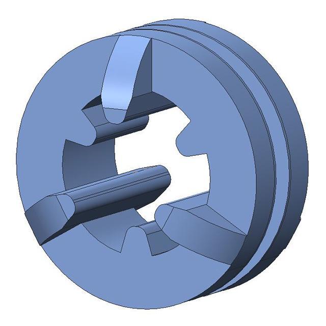 SCREW GROMMET THRMPL BLUE - Aearo Technologies, LLC G-461-1