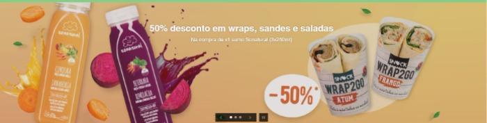 sonatural - sumos / sandes / wrap
