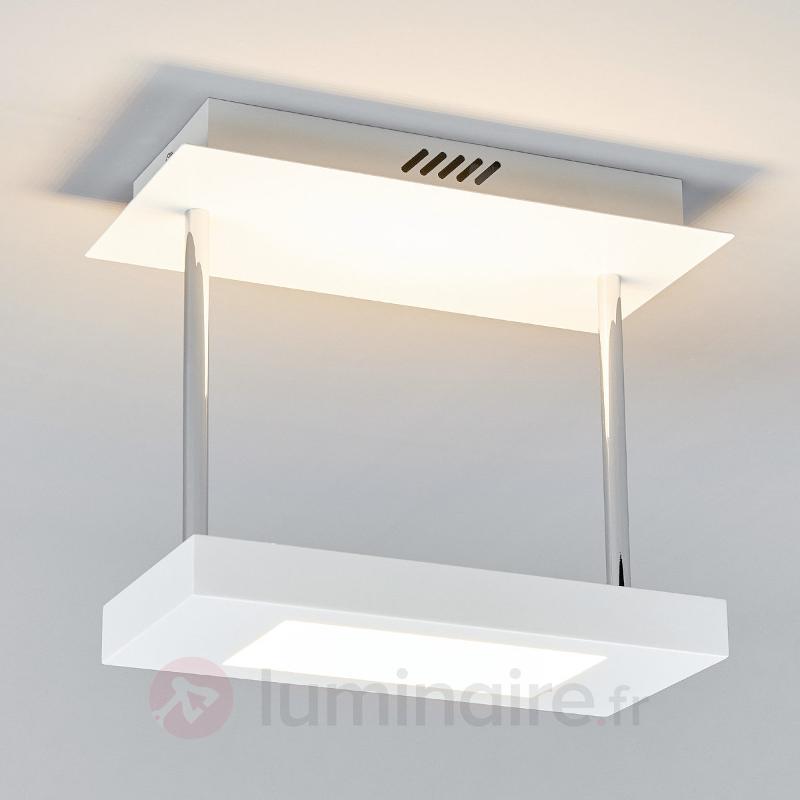Plafonnier LED carré Augusta - Plafonniers LED