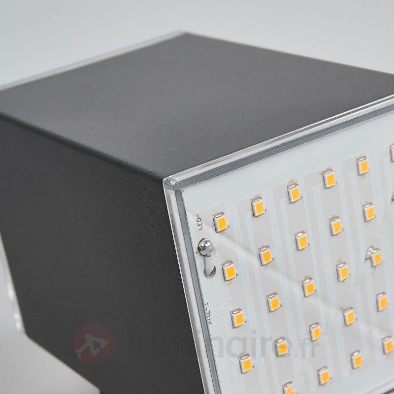 Applique d'extérieur LED Lydia, à 2 lampes - Appliques d'extérieur LED