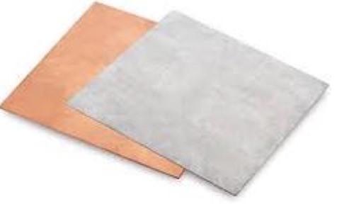Bi-Metal Plate - Bimetal Plate Copper Alumimium Claded Plate Manufacturers and Exporters