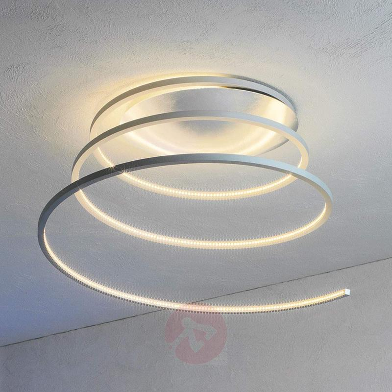 Fascinating LED ceiling light Helix 35 cm - Ceiling Lights