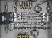 Kalibriersystem mit Laminar Flow Elementen - null