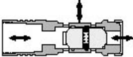 281 Detented Shuttle Valve - null