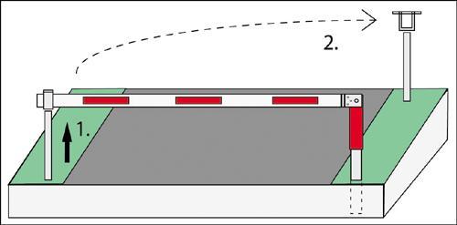 WES 215 Horizontal drehende Forstsperre - null