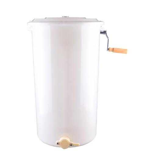 Plastic Honey Extractor with  2 Frame - manual plastic honey extractor