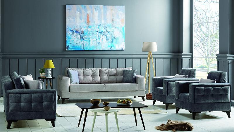 Sofa Seater Set Rodos II - Classic Furniture Sets