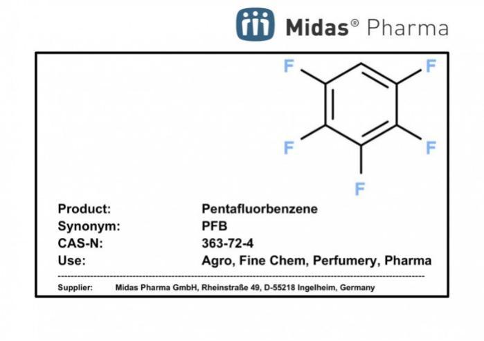 Pentafluorbenzeno - PFB; 363-72-4