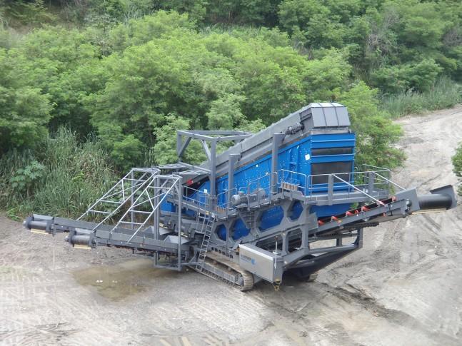 Raupenmobile Siebanlage - MS 23 D