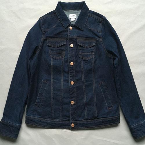 Женская джинсовая куртка -