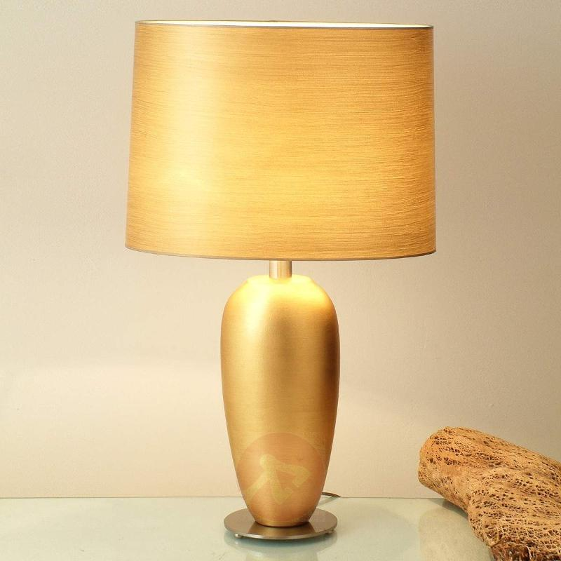 Classic table lamp EPSILON gold, height 65 cm - Table Lamps