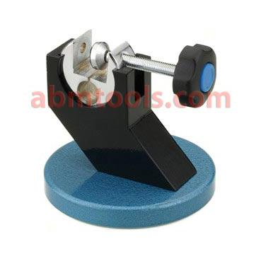 Micrometer Stand - Cast iron stand features convenient adjustments for optimum reading