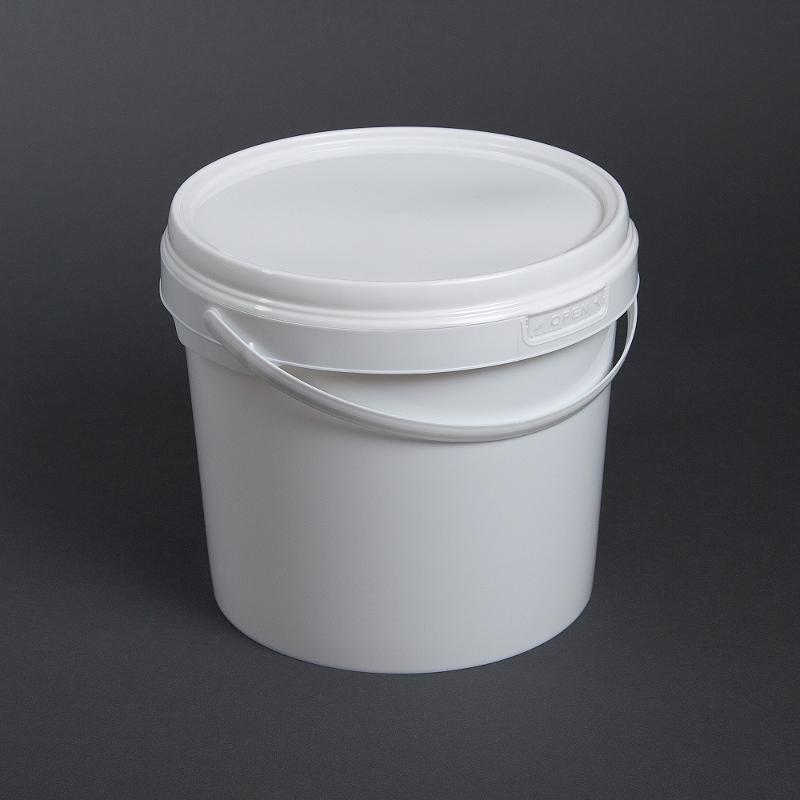 Kunststoffeimer rund, 5 Liter - Artikelnummer 526100005000