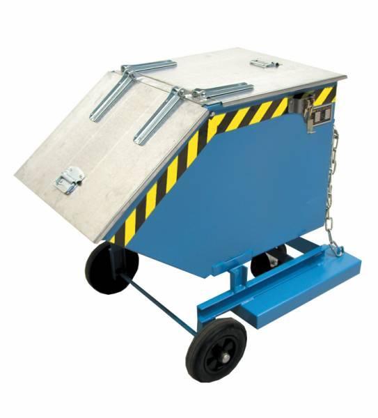 Kastenwagen Typ KW - Kipper mit ebenerdiger Entleermöglichkeit