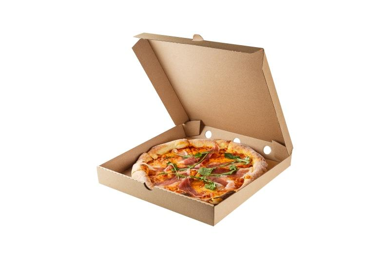 "Pizza Box ""Pure Kraft"" - Kraft box for pizza"
